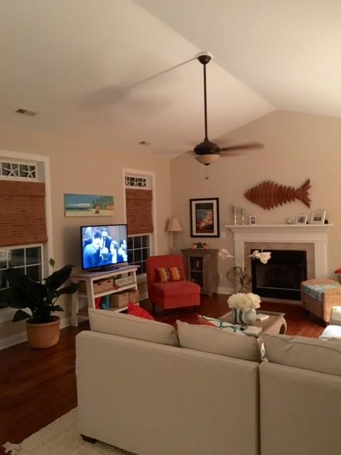 North carolina beach house makeover on a budget for Beach house plans on a budget