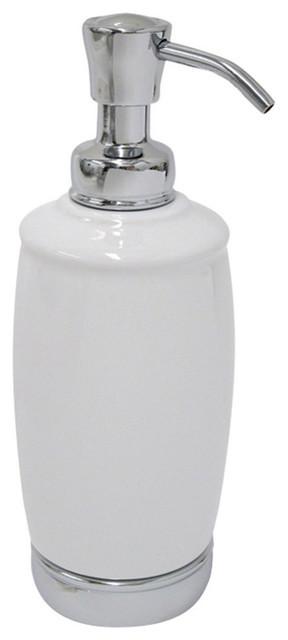 Brushed//Matte Charcoal Tall InterDesign Metro Rustproof Aluminum Soap Dispenser Pump for Kitchen or Bathroom