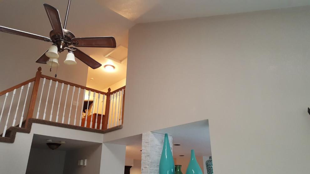 Renovated loft into a bedroom