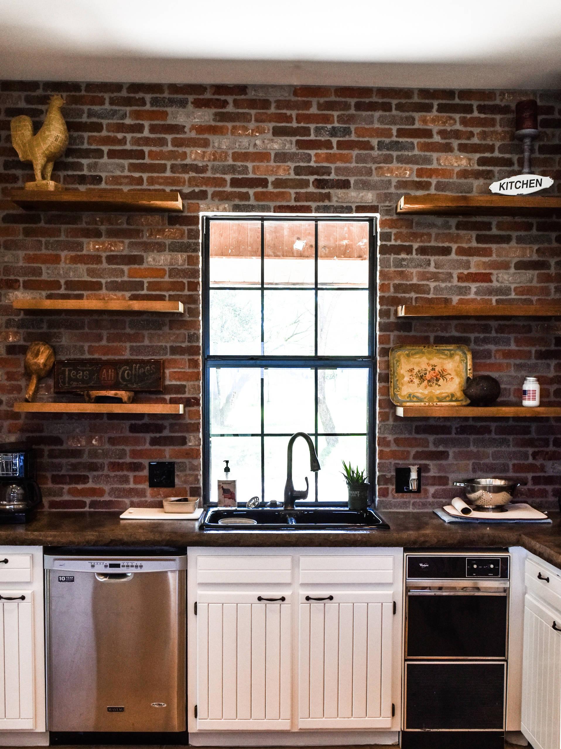 Ranch Industrial Kitchen