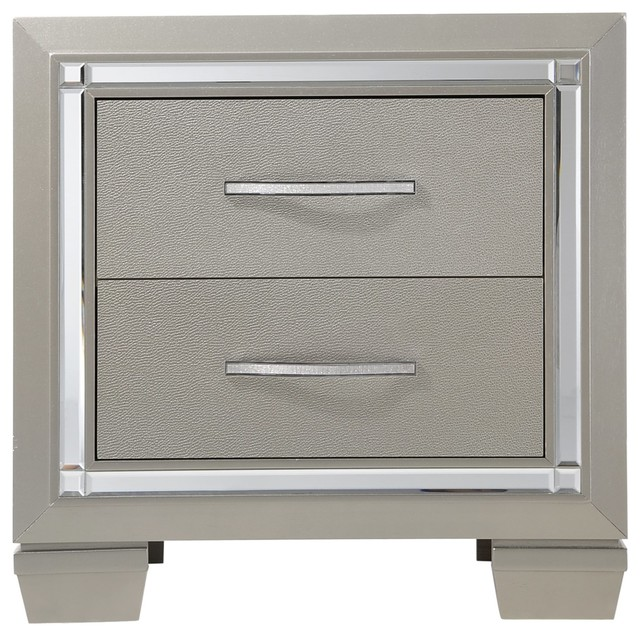 Gloria Contemporary Nightstand.