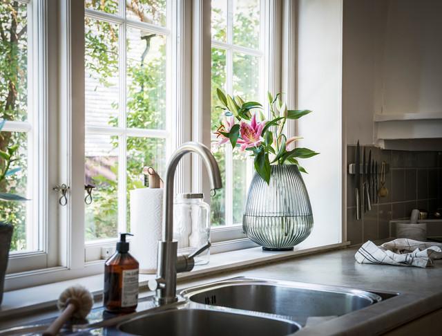 Klassisk inredning av ett hem