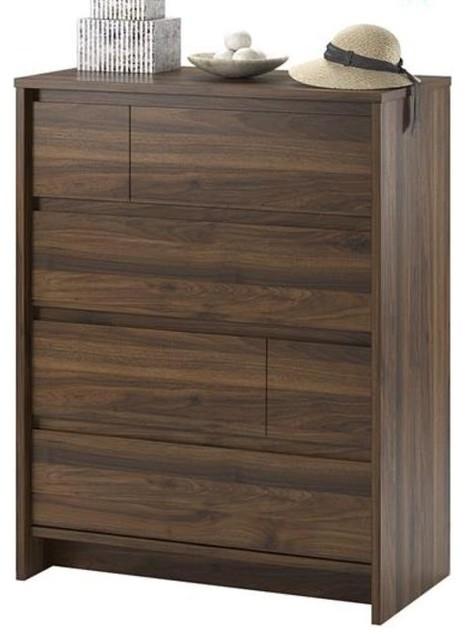 Yorkshire 4 Drawer Dresser, Walnut.