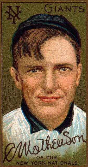 Quot New York Giants Christopher Mathewson Baseball Card