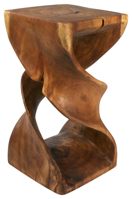Double Twist Table Rustic Side Tables And End Tables By Strata
