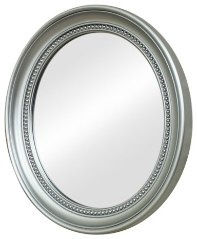 Melody Maison Tall Silver Mirror with Bevelled Glass 47cm x 142cm
