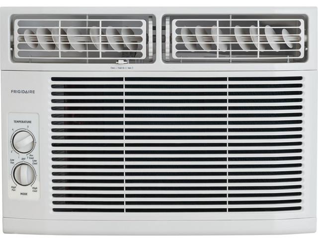 Frigidaire 12,000 Btu 115v Window-Mounted Compact Air Conditioner.