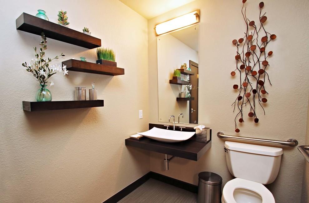 Dental Office Patient Restroom Modern Denver By Larson Design Houzz