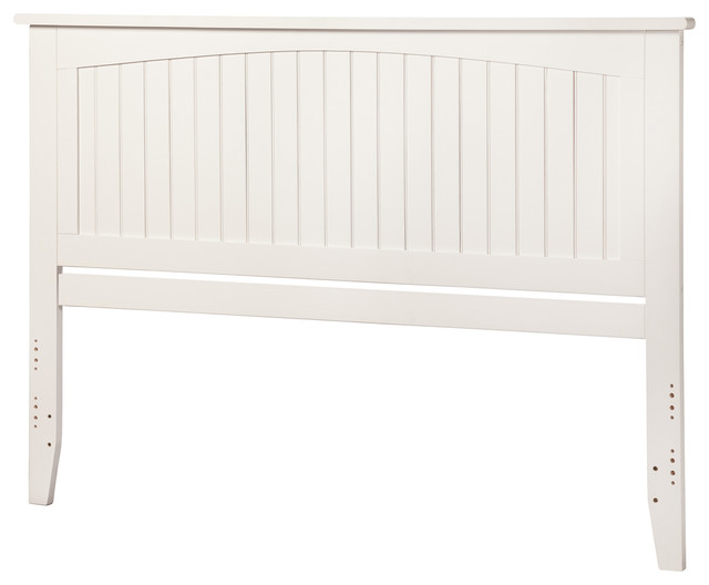 Nantucket Headboard King White.