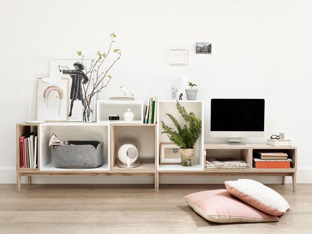 Stacked shelf system skandinavisk