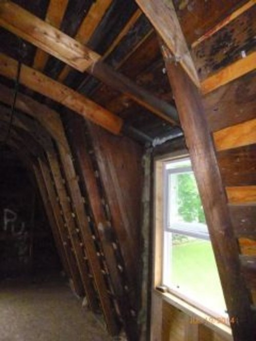 here is the cut off rafter