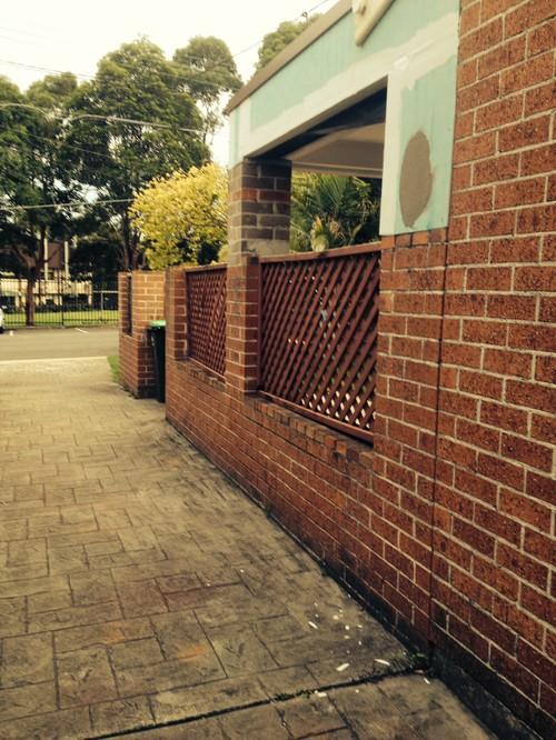 Update boring redorange brick exterior and fence design workwithnaturefo