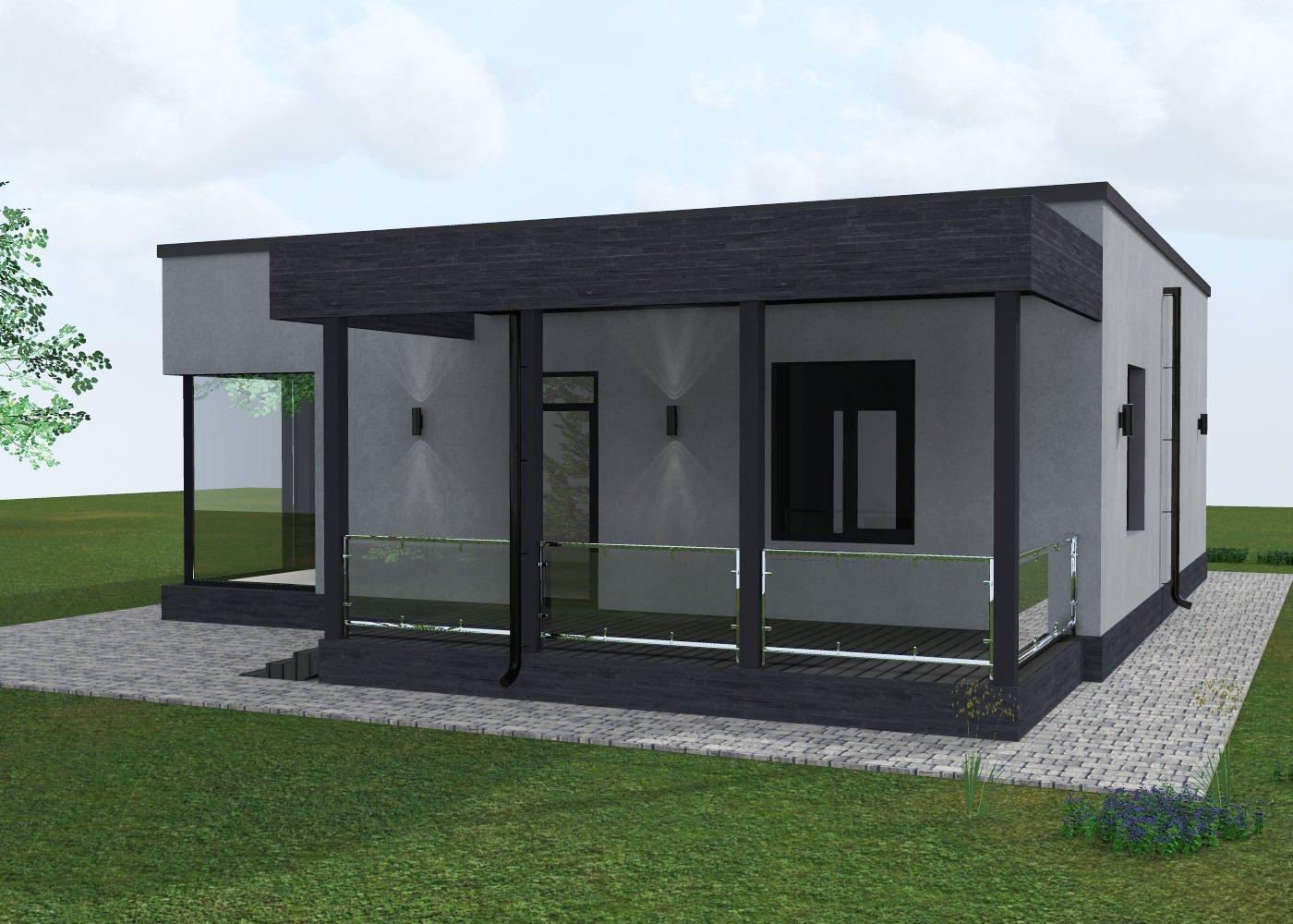 Проект дома в Подмосковье