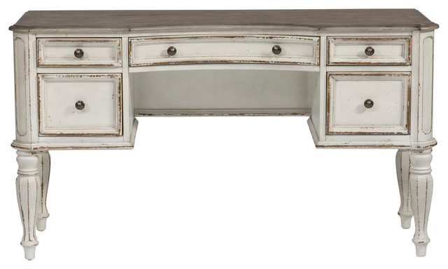 Magnolia Manor Vanity Desk Farmhouse Desks And Hutches By Liberty Furniture Industries Inc