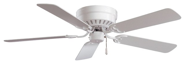 "52"" Mesa Ceiling Fan, White."