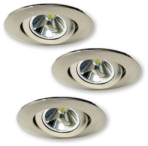 Elco E342 3W Mini LED Recessed Undercabinet Light Kit - Recessed Lighting Kits | Houzz