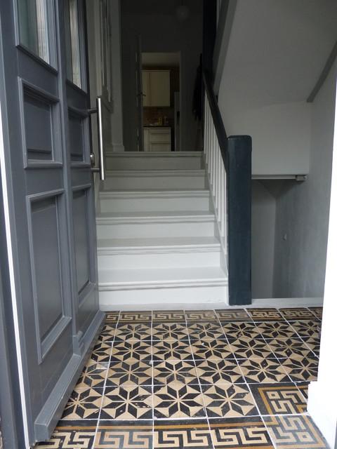 sanierung und einrichtung einer 30er jahre altbauvilla landhausstil berlin von berliner. Black Bedroom Furniture Sets. Home Design Ideas