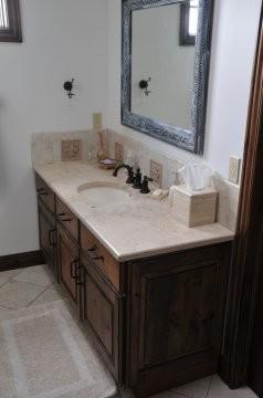 Rustic Alder Bathroom