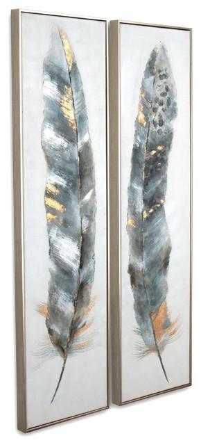 Calamus Framed Canvas, 2-Piece Set