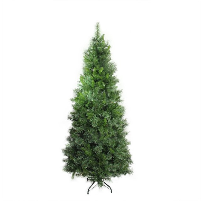 65 mixed cashmere pine medium artificial christmas tree unlit