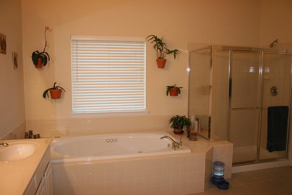 Fairfax Master Bathroom Remodel: Before