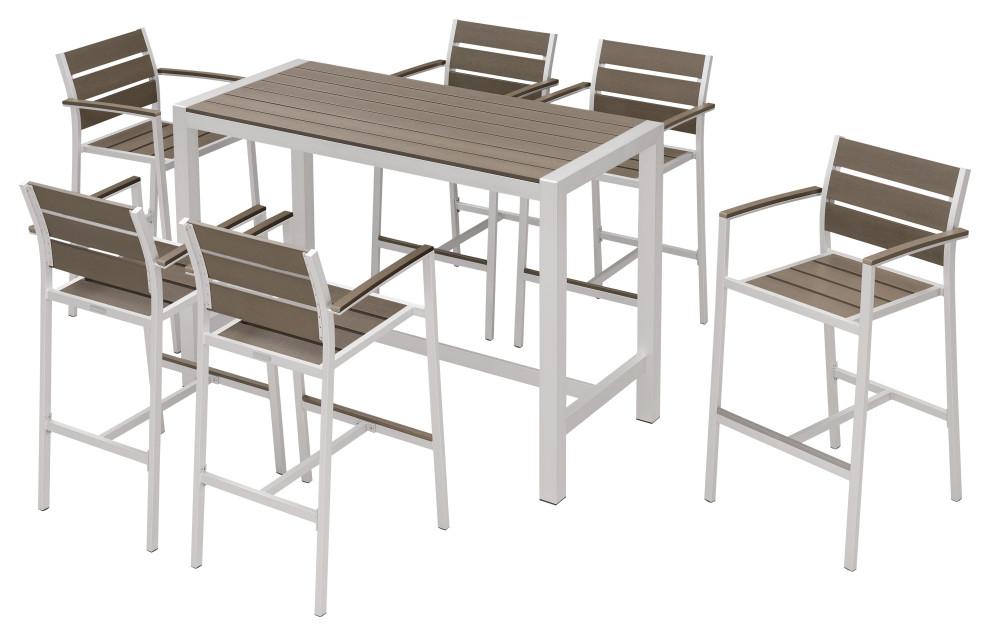 Outdoor Patio Furniture Dining Bar, Bar Top Patio Furniture
