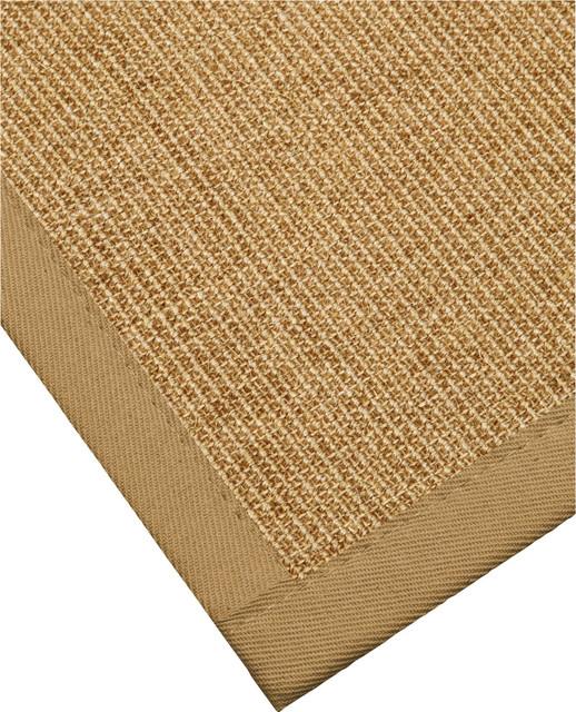 Banfield Sisal Rug SageKhaki Cotton Border Non Slip  : transitional area rugs from www.houzz.com size 518 x 640 jpeg 193kB