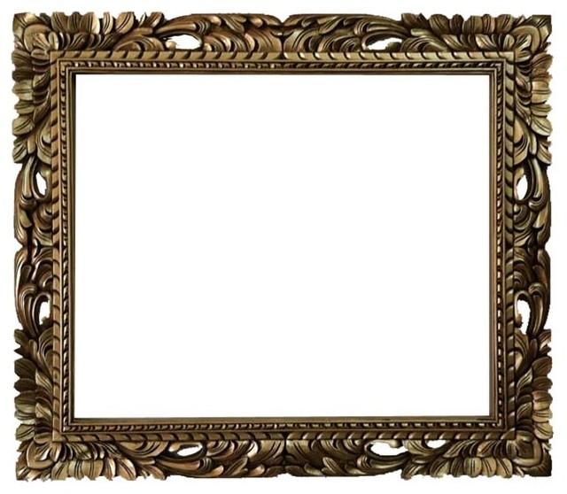 Baroque Wall Mirror 20x24 rectangle gold mid century mirror frame baroque frame