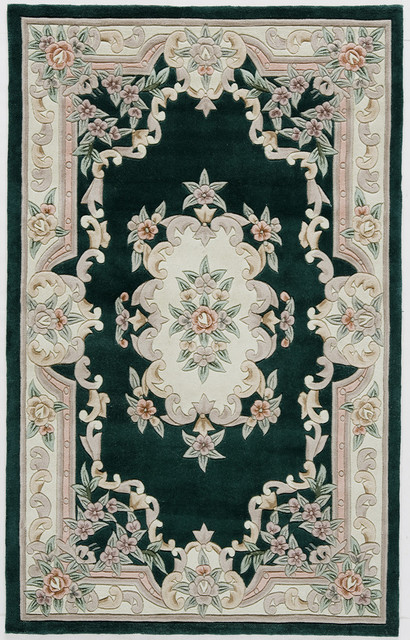 New Aubusson, Emerald, 8'x11'