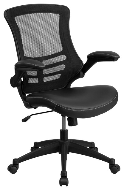 Mid-Back Mesh Chair with Nylon Base