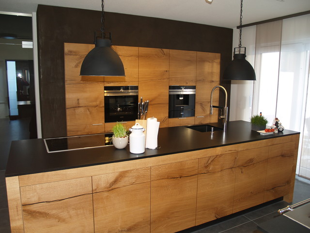 k che la cucina schreinerk che modern k che m nchen von schreinerei hermann eder. Black Bedroom Furniture Sets. Home Design Ideas