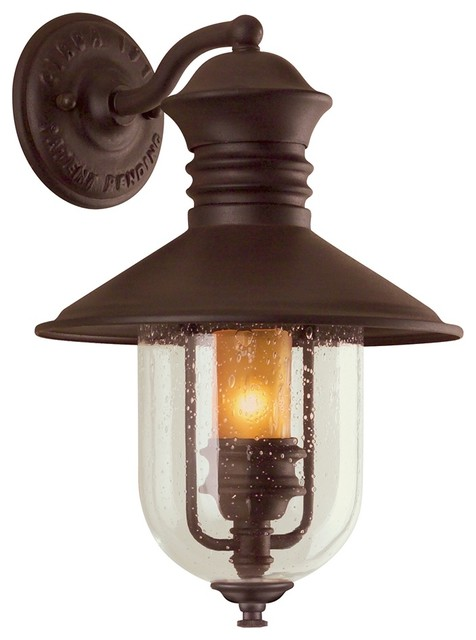 """Old Town Collection 16"""" High Outdoor Wall Light ... on Exterior Wall Sconce Light Fixtures id=67152"""