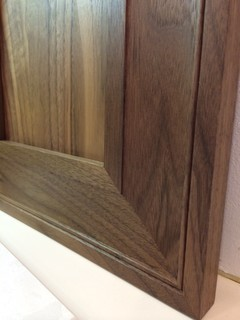Hardware Placement On Cabinet Doors With Curved Stiles And