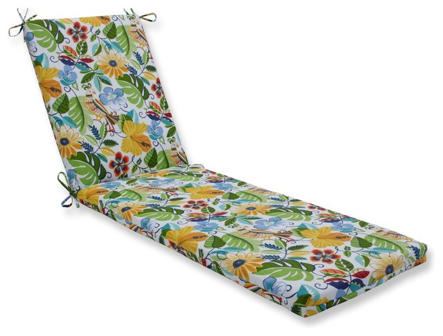 Lensing Garden Oversized Chaise Cushion.