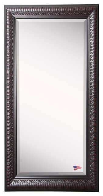 "American Made Rayne Royal Curve Extra Large Floor Mirror, 30.5""x1""x71""."