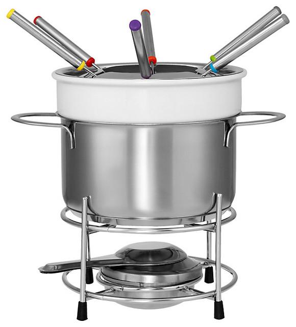 ceramic fondue set by john lewis contemporary fondue and raclette sets by john lewis. Black Bedroom Furniture Sets. Home Design Ideas