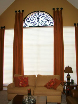 Curtains Ideas curtains for half moon windows : 17 Best images about Curtains on Pinterest | Window treatments ...