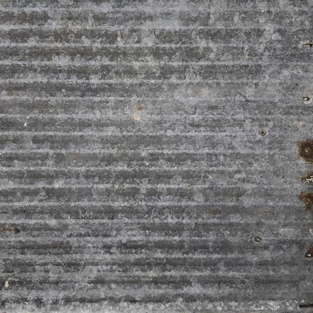 Dakota Barn Tin Ceiling Tile, Majority Galvanized