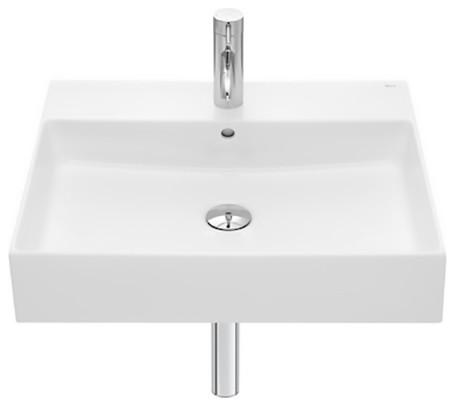Fineceramic Wall-Hung or Vanity Basin White Gloss