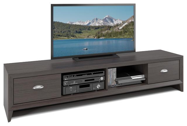 the latest b587f e4909 Lakewood Extra Wide TV Bench, Modern Wenge Finish