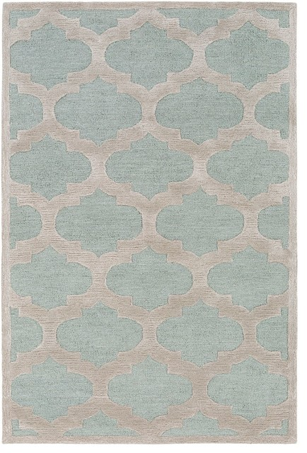 Arise Area Rug Rectangle Light Blue Gray 2 X3