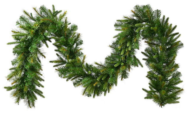 Vickerman 9' Cashmere Artificial Christmas Garland Unlit,