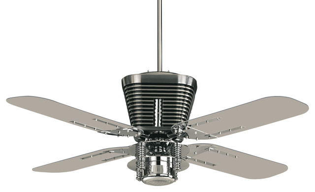 Quorum International 93524 14 Retro Chrome 52 Ceiling Fan