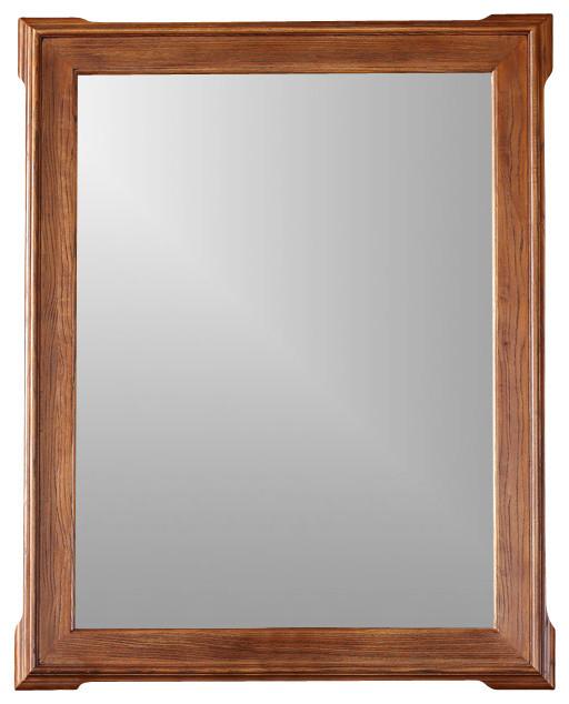 James martin furniture pasadena 34 mirror reviews houzz for Craftsman mirrors bathroom