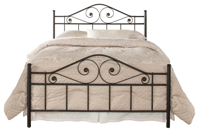 Harrison Bed Set With Rails, Full.