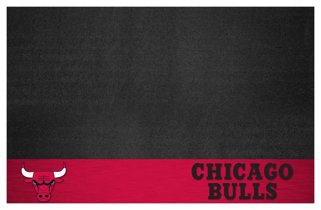 Nba Chicago Bulls Grill Mat 26x42.