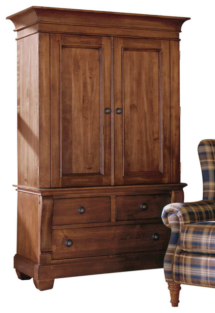 armoire wardrobe solid wood roselawnlutheran. Black Bedroom Furniture Sets. Home Design Ideas