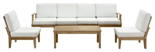 Modway Marina 7-Piece Outdoor Sofa Set.