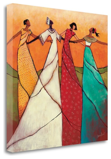 """unity"" By Monica Stewart, Giclee Print On Gallery Wrap Canvas, Ready To Hang."