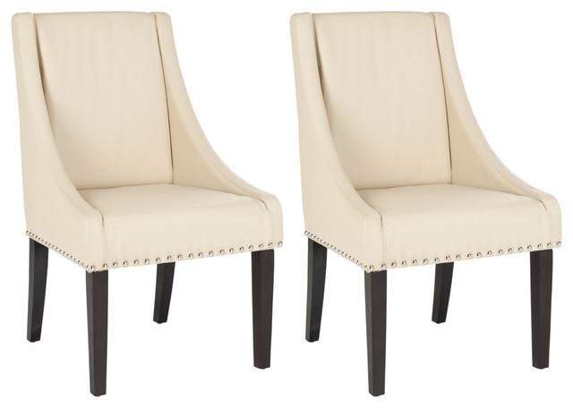 Safavieh Rutland Dining Chairs, Set of 2, Cream